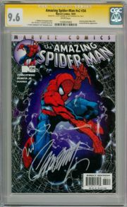 Amazing Spider-man Volume 2 #34 CGC 9.6 Signature Series Signed J. Scott Campbell & Townsend Marvel